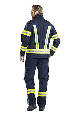 Rosenbauer Upper Austria firefighter operational clothing