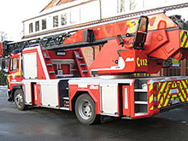 Aerials from Metz aerials for fire departments - Rosenbauer