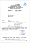 Certificate AUSTRIA
