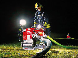 Rosenbauer FOX with lighting