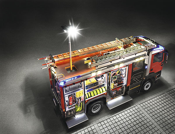 Rosenbauer AT with light mast