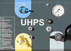 UHPS fire extinguishing systems control panel - Rosenbauer