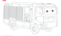 Malvorlage AT weiß
