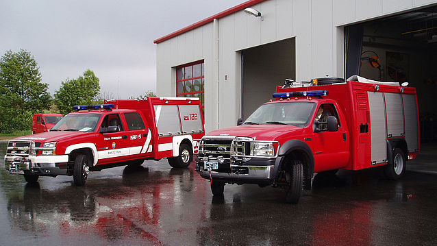 Rapid intervention vehicle Chevi Ford - Rosenbauer