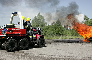 Small rescue trucks - Rosenbauer
