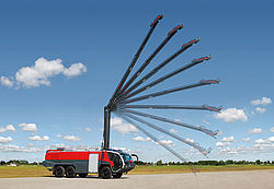 High reach extendable turret - Rosenbauer