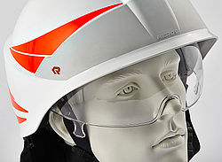 Forest fire helmet eye shield - Rosenbauer