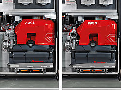 FOX rotating discharge outlets - Rosenbauer