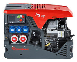 Portable power generator in DIN-8 frame - Rosenbauer