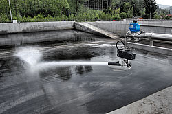 Automatic cleaning system Ossiacher See Water District - Rosenbauer