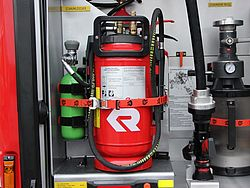 Portable CAFS extinguisher POLY PORTEX - Rosenbauer
