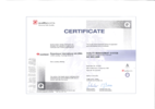 Certificate ISO 9001:2008
