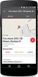 Alarm data (Android)