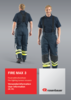 User information FIRE MAX 3 trousers