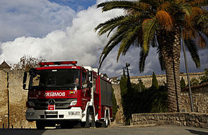 Special fire truck for forest operations - Rosenbauer