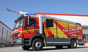 International fire trucks | Fire fighting vehicles - Rosenbauer