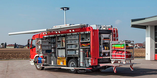 HAZMAT vehicle fully equipped - Rosenbauer