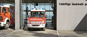 Firefighting equipment for station - Rosenbauer