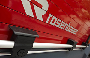 Fire truck equipment for safe storage - Rosenbauer