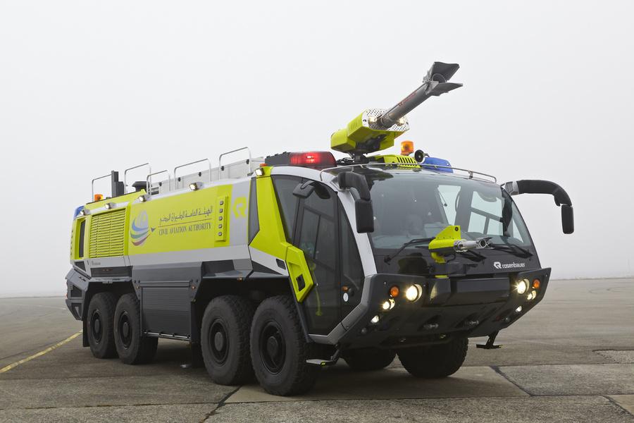 Rosenbauer PANTHER fire truck   ARFF vehicles - Rosenbauer