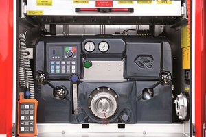Fire truck equipment for simple operation - Rosenbauer