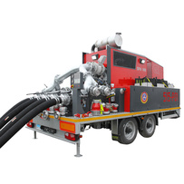 Fire fighting system trailer-mounted - Rosenbauer