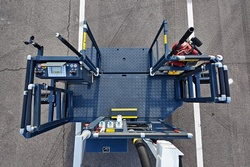 Rosenbauer rescue cage - three-way entry points