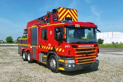 Rosenbauer first attack aerial ladder