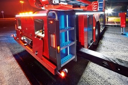 Rosenbauer aerial ladder body