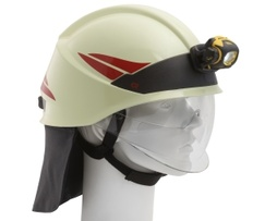 Fire helmet technical operation & fire - Rosenbauer