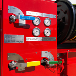 POLY CAFS TWIN AGENT Bedienpanel - Rosenbauer
