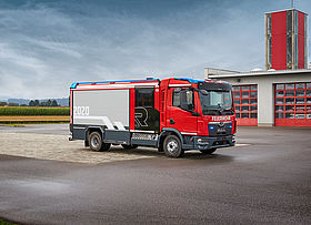 Fire engines & municipal fire trucks ES System - Rosenbauer