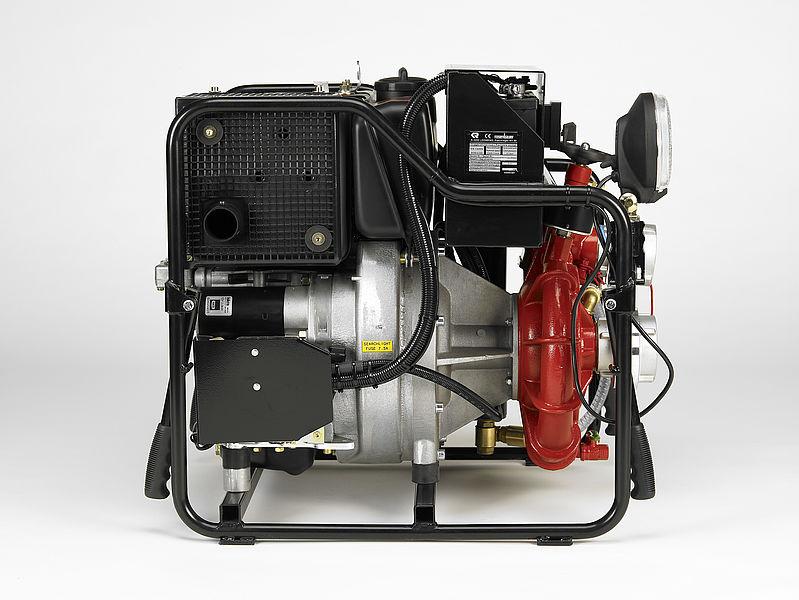 Diesel fire pump   Rosenbauer OTTER diesel fire pump - Rosenbauer