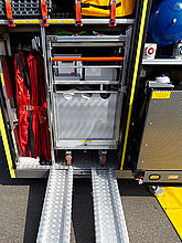 HAZMAT containers with best mobility - Rosenbauer