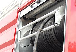 Rapid intervention hose reel - Rosenbauer
