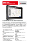 Datasheet EMEREC Tablet Getac G4 F110 Premium Fully Rugged