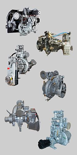 Rosenbauer truck mounted pumps