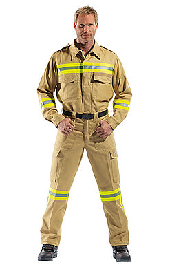 Rosenbauer Salzburg firefighter operational clothing