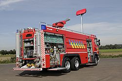 Firefighting lights for best scene lighting - Rosenbauer