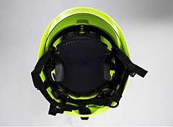 Fire fighting helmets inside equipment - Rosenbauer