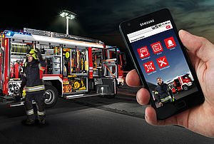 Fire fighting logistics on mobile - Rosenbauer