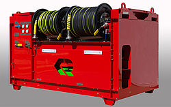 Offshore fire extinguishing system POLY CAFS TWIN AGENT - Rosenbauer