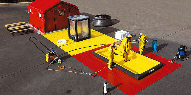 Decontamination equipment kit - Rosenbauer