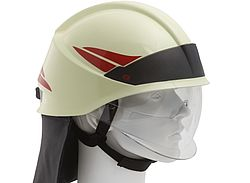 Neck protection for fire fighting helmets - Rosenbauer