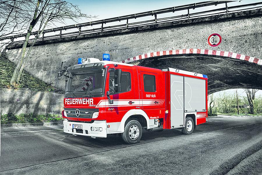 Small fire trucks & rescue vehicle | Light pumper CL