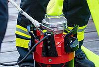 Cable tension release for submersible pumps - Rosenbauer