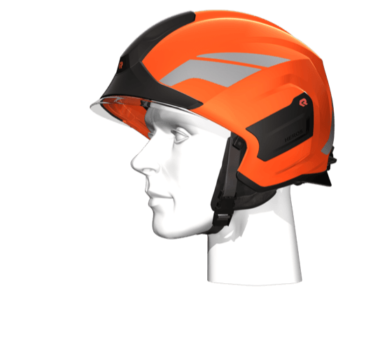 Helm Strazacki Heros Titan Pelny Helm Ochronny Rosenbauer