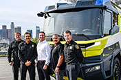 LAFD Purchases Electric Fire Truck