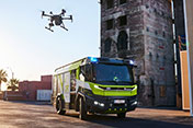Rosenbauer and DJI Global Partnership