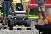 "The Rosenbauer Fire Service Robot is ""Red-hot""! (C)ORF"